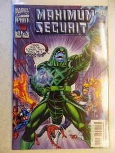 MAXIMUM SECURITY # 1