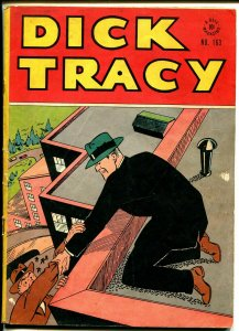 Dick Tracy Four Color Comics #163-Dell-Chester Gould crime art-Rogues Gallery-VG