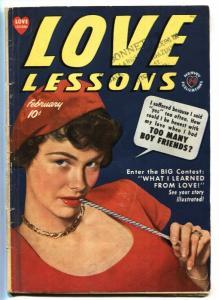 Love Lessons #3 1949-Harvey-TOO MANY BOYFRIENDS!