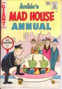 ARCHIES MADHOUSE (1959-1982)ANN  1 F-VF 1963 COMICS BOOK