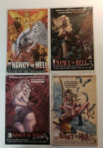NANCY IN HELL ON EARTH #1-4 COMPLETE SET IMAGE COMICS 2010 VF/NM