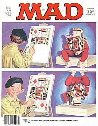 Mad #211 VF; E.C | save on shipping - details inside