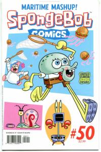 SPONGEBOB #50, NM, Square pants, Bongo, Cartoon comic, 2011, more in store