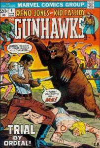 Gunhawks (1972 series) #4, VF (Stock photo)