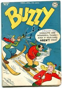 Buzzy #6 1945-DC Golden Age Teen Humor- VG+