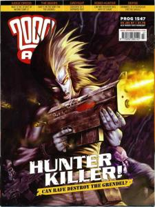 2000 A.D. #1547 VF/NM; Fleetway Quality | save on shipping - details inside