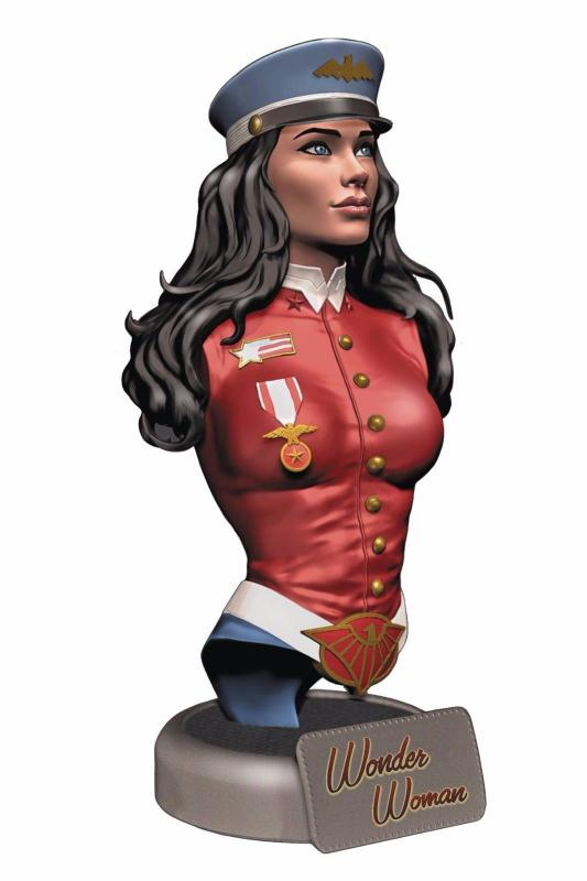 DC Comics Bombshells Wonder Woman Bust - New!