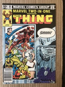 Marvel Two-in-One #96 (1983)