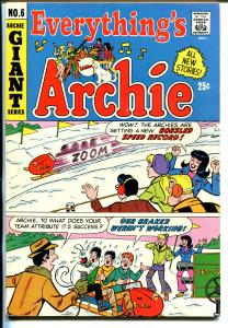 Everything's Archie #6 1970-Giant Issue-Betty-Veronica-FN/VF