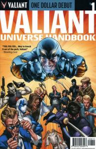 Valiant Universe Handbook FCBD #2014 (2nd) VF/NM; Valiant | save on shipping - d