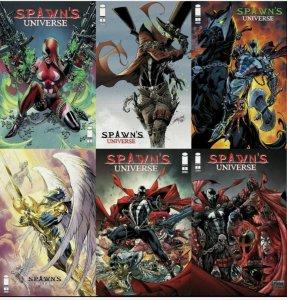 Spawn's Universe #1 - #6 set w/ Variants.NM Lot!