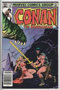 Conan the Barbarian #144 (Feb-83) VF+ High-Grade Conan the Barbarian