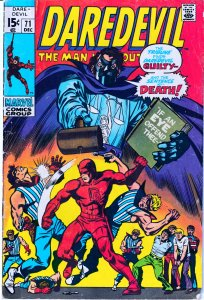 Daredevil(vol. 1) # 71  Chaos in the Courtroom !