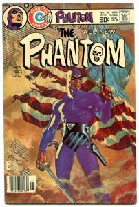 THE PHANTOM #74 1977-CHARLTON COMICS-PATRIOTIC FLAG COV VG/FN