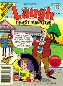 Laugh Digest Magazine #104 FN; Archie | save on shipping - details inside