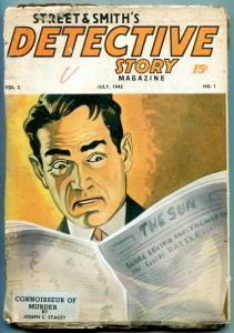 Street & Smith's Detective Story July 1942- Canadian ed.- Connoisseur Murrder