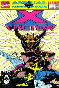 X-Factor (1986 series) Annual #6, NM (Stock photo)