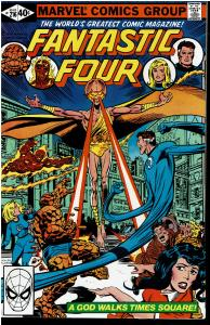 Fantastic Four #216, 8.0 or Better - Blastaar and Futurist Appearance