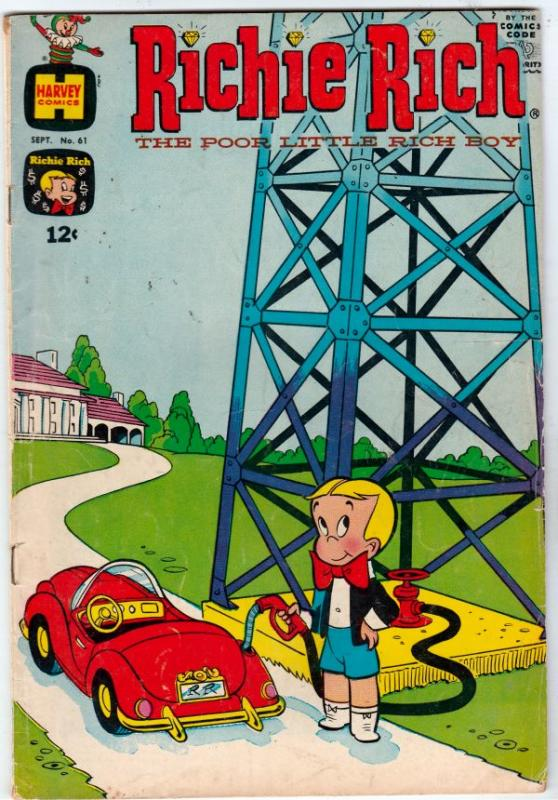 Richie Rich #61 (Sep-67) VG/FN Mid-Grade Richie Rich