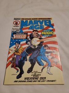 Marvel Age 77 Near Mint- Cover by Keith Pollard