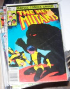NEW MUTANTS  # 3 1983  marvel CANNONBALL  KARMA WOLFSBANE XIAN SUNSPOT PSYCHE
