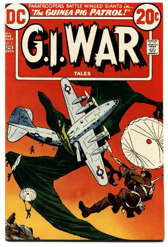 G.I. War Tales #1-1973-Dinosaur cover-DC bronze age comic book