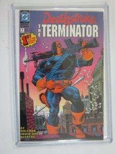 Deathstroke the Terminator #1 8.5 VF+ (1991)