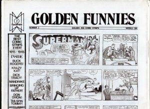 Golden Funnies #2 1973-newspaper comics reprints-Mandrake-Superman-Krazy Kat-NM
