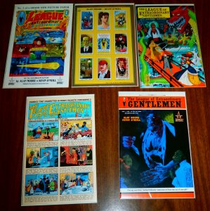 League of Extraordinary Gentlemen   vol. 1   #1-4,6 (set of 4)