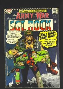 Our Army at War (1952 series) #167, VG+ (Actual scan)