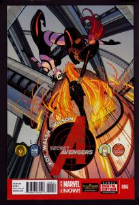 Secret Avengers #6 (2014 Series)   9.4 NM