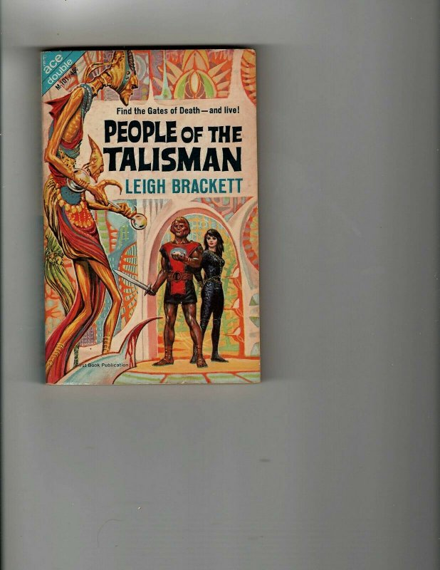 3 Books People of the Talisman Sheriff Wanted! Baby Doll Mystery Thriller JK11