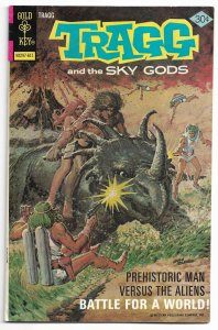 Tragg and the Sky Gods #7 (VF) Copper Age Painted Cover 1976