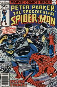 Spectacular Spider-Man, The #23 FN; Marvel | save on shipping - details inside