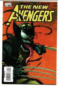 New Avengers #35 2007 1st Venomized cover- Wolverine NM-