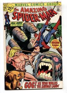 AMAZING SPIDER-MAN #103 1971-KAZAR-MARVEL COMIC-KANE ART VF-
