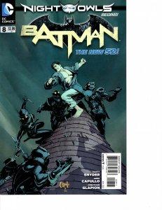 Batman (2011) #8 VF+ (8.5) New 52 Court of Owls