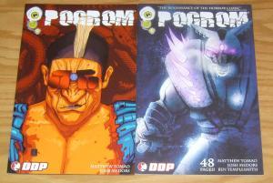 Pogrom #1-2 VF/NM complete series - ben templesmith - josh medors horror set