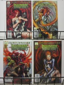 SECRET INVASION  INHUMANS (2008) 1-4