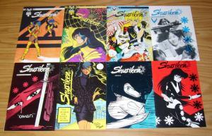 Shuriken #1-8 VF/NM complete series - reggie byers - victory comics 2 3 4 5 6 7
