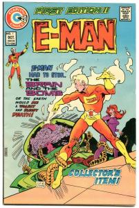 E-MAN #1-STANTON ART-1973 NM