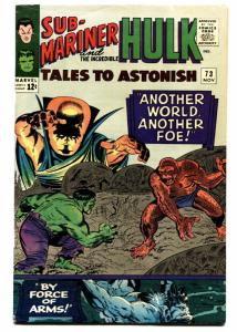 TALES TO ASTONISH #73 HULK cover 1965 comic book Marvel Silver-Age