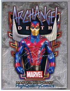ARCHANGEL Death Mini-bust, Randy Bowen, WWLA Exclusive,Signed, Numbered, MIB
