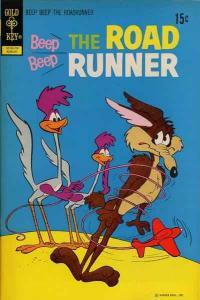 Beep Beep: The Road Runner (1966 series) #31, VG+ (Stock photo)