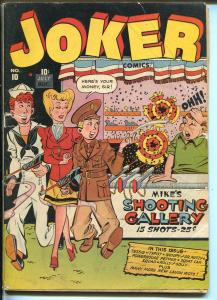 Joker #10 1943-Timely-Wolverton-Tessie The Typist-Powerhouse Pepper-Military-VG