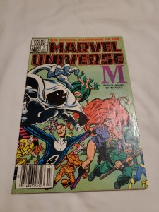 Official Handbook of the Marvel Universe 7 Very Fine- Cover by Joe Rubinstein