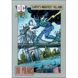 1991 DC Cosmic Cards - DR. POLARIS #93