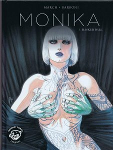 Monika Vol. 1 Masked Ball Graphic Novel Harcover Newbury Comics Variant Titan