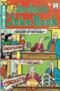 Archie's Joke Book Magazine #204, Fine (Stock photo)