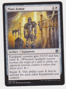 Magic the Gathering: Adventures in the Forgotten Realms- Plate Armor